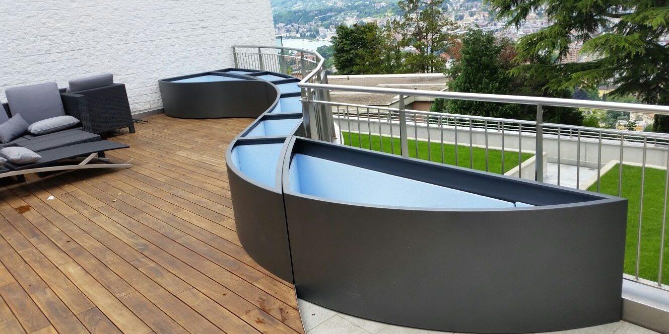 Consigli per vasi arredamento terrazzi martin design for Arredamento per terrazzi