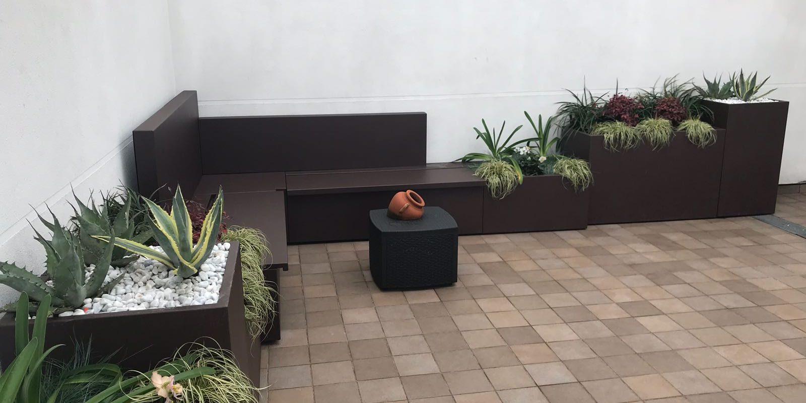 Vasi Per Piante Da Terrazzo vasi per piante da esterno - martin design